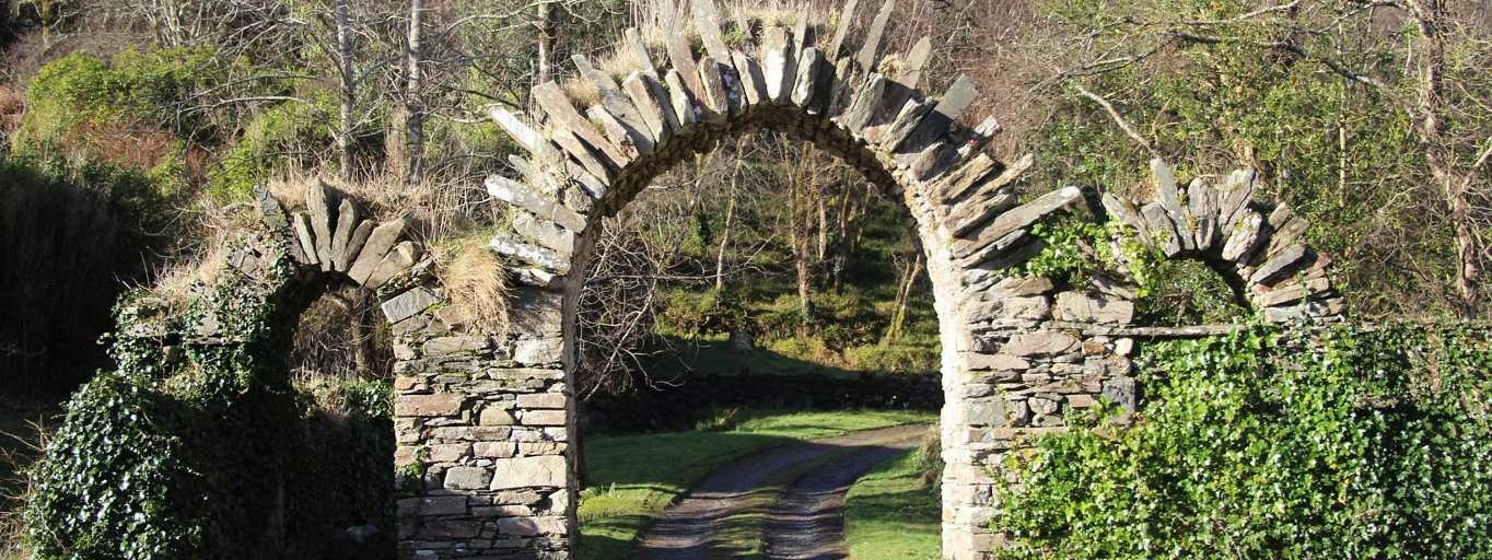 The arches at Cloona Health retreat